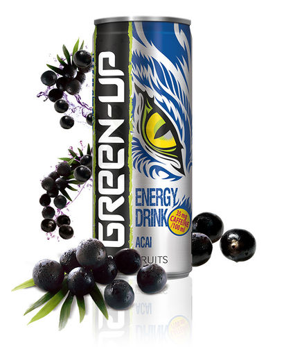 "Energy Drink ""Green Up"" Acai"