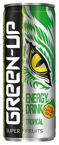 "Energy Drink ""Green Up"" Tropische Früchte"